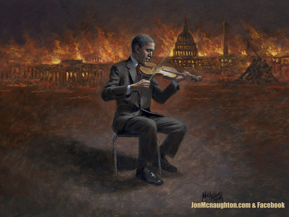 """The Demise of America"" by Jon McNaughton"